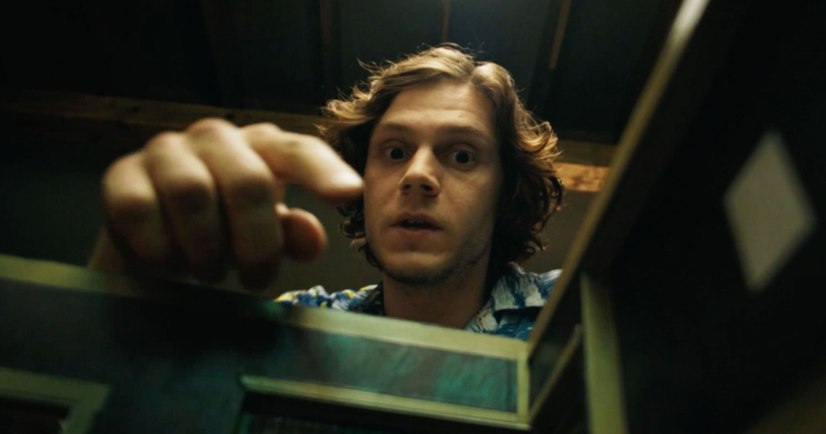 Evan Peters (Warren Lipka) in American Animals, dir. Bart Layton