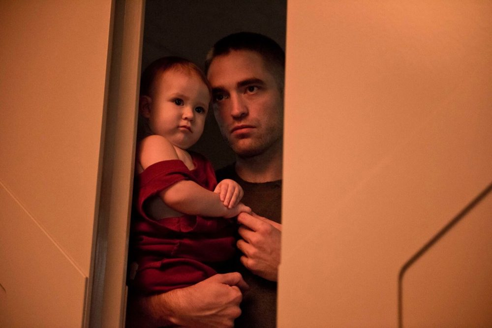 Robert Pattinson and Scarlett Lindsey in High Life, dir Claire Denis, 2018