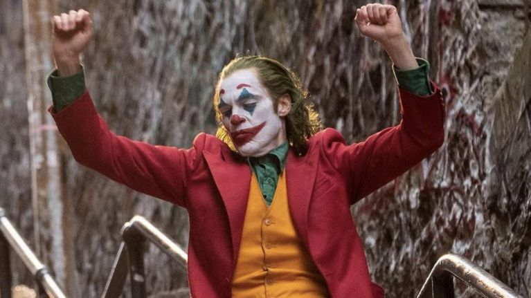 Joaquin Phoenix in Joker, dir. Todd Phillips, 2019