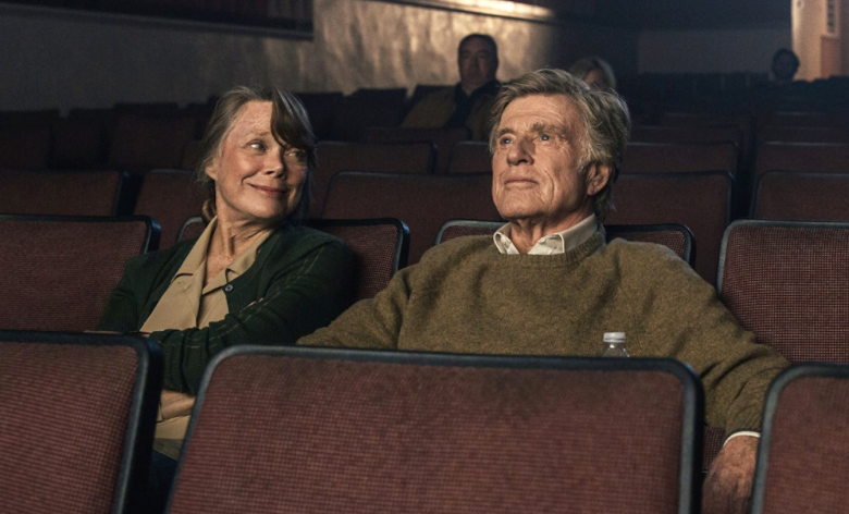 Sissy Spacek and Robert Redford in The Old Man & the Gun, dir. David Lowery, 2018
