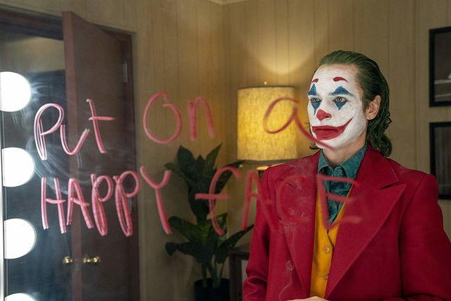 Joaquin Phoenix in Joker, dir. Todd Phillips, 2019